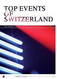 top events of switzerland in 2011 - Barino Consulting