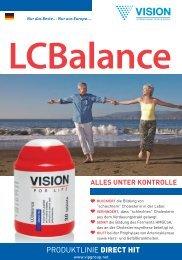 Lesen Sie speziell aufbereitete Broschüre über LCBalance Produkt