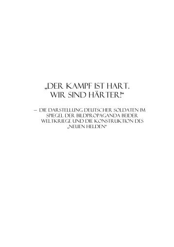 Der Kampf ist hart. Wir sind härter. - TOBIAS-lib - Universität Tübingen