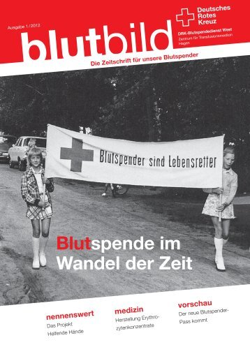 Ausgabe 03 (PDF, 1,1 MB) - DRK-Blutspendedienst West