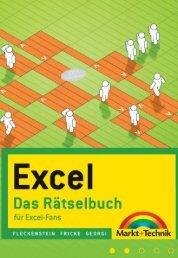 Excel - Das Rätselbuch  - Markt und Technik