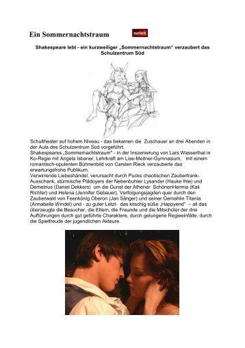 Theaterprojekt 2008 - Lise Meitner Gymnasium