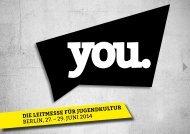 Informationsbroschüre YOU 2014 (PDF, 2,9 MB)
