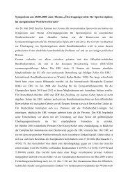 """Symposium am 20.05.2005 zum Thema """"Übertragungsrechte für ..."""