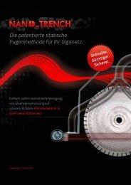 Die patentierte statische Fugenmethode für ihr ... - NANO_TRENCH