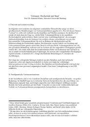 Vertrauen: Hochschule und Staat