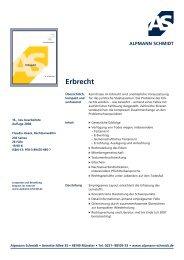 Erbrecht - Alpmann Schmidt