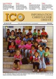 Zeitung Nr.: 46 Mai 2012 in PDF - Initiative Christlicher Orient