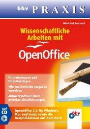 Wissenschaftliche Arbeiten mit OpenOffice - Verlagsgruppe Hüthig ...