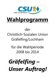 Wahlprogramm 2008 – 2014 (PDF – 396 KB) - CSU Ortsverband ...