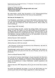Wahlrecht zur hamburgischen Bürgerschaft und zu ... - Politikschmiede