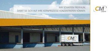 Image-Broschüre - CM-Logistik
