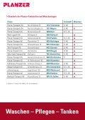 – Tanken Waschen – Pflegen – Tanken - Planzer Transport AG - Seite 4