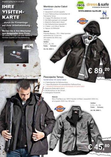 € 89,20 € 45,80 - Dress & Safe