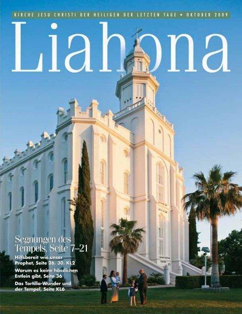 Oktober 2009 Liahona