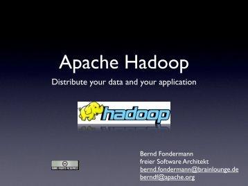Apache Hadoop - OpenExpo