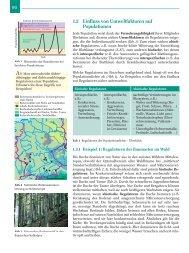 90 1.3 Einfluss von Umweltfaktoren auf Populationen
