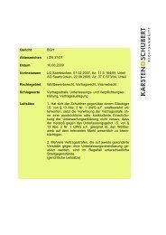 BGH I ZR 37/07 unrichtige Aufsichtsbehörde - Karsten + Schubert