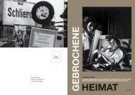 Gebrochen Heimat - Stiftung Werner Schwarz