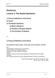a) What Is Realism? - Universität Tübingen
