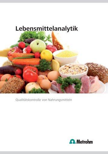 Deutsch - Quality Assurance in the food & beverage industry ...