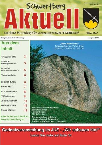 Gemeindezeitung März 2010 (1,53 MB) - Schwertberg