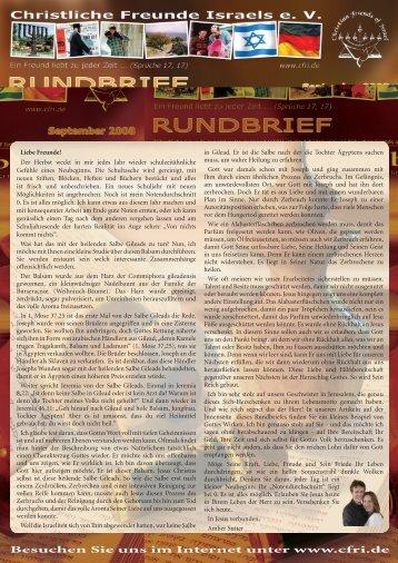 2008 September Eine heilende Salbe Gileads - Christliche Freunde ...