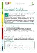 Sanierungsscheck - Infoblatt für Betriebe und Private - Page 5