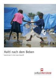 Haiti nach dem Beben - Caritas international