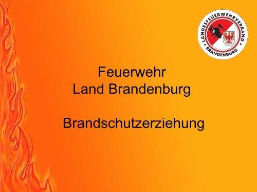 Brandschutzerziehung Teil 1 Feuerwehr Cottbus