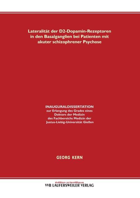 Lateralität der D2-Dopamin-Rezeptoren in den Basalganglien bei ...