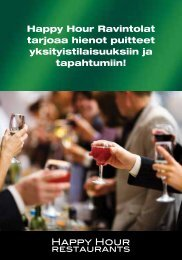 esite - Happy Hour Restaurants