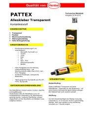 PATTEX - Henkel
