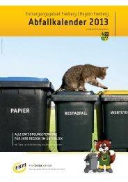 Abfallkalender 2013 - EKM Entsorgungsdienste Kreis Mittelsachsen ...