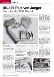 DG-120 Plus von Jaeger - TELE-satellite International Magazine