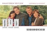 haustüren edition - Heidecke Fenster
