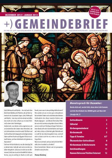 Monatsspruch für Dezember: - ev.-luth. Auferstehungs-Kirche