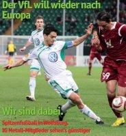 DerVfLwillwiedernach Europa Wirsinddabei. - IG Metall Wolfsburg