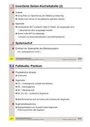 E.4 Fallstudie: Pentium 5 Invertierte Seiten-Kacheltabelle (2) - CS 4