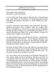 Laudatio von Prälat Dr. Peter Neher, Präsident des Deutschen ...