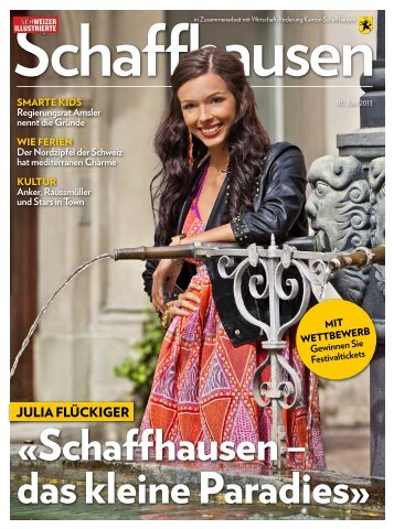 SI Schaffhausen GzDneu.pdf, pages 13-25 - Schaffhausen. Ein ...