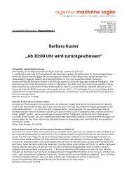 Download: Kuster_Presseschau_Schuss.pdf - agentur marianne ...
