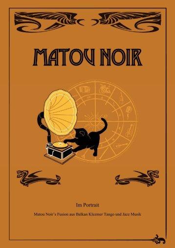 Pressemappe - Matou Noir