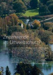 Zeitenwende im Umweltschutz - Rheinaubund