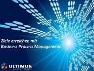Ziele erreichen mit Business Process Management
