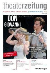 Theaterzeitung Oktober 2012 - Theater Hagen