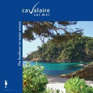 D u bonheur en toute saison - Cavalaire-sur-Mer