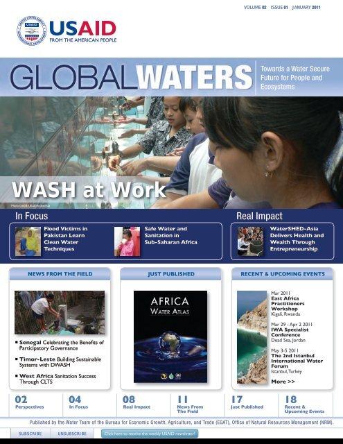WASH at Work - usaid / ofda