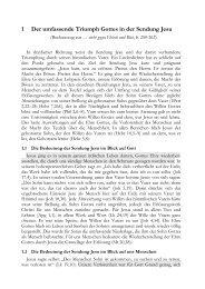 Der umfassende Triumph Gottes in der Sendung Jesu - Helmutblatt.de