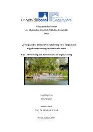 Diplomarbeit zum Radtourismus am Regnitzradweg von Julia Wagner